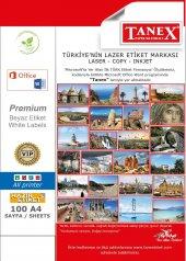 Tanex 60mm Laser Etiket 100lü (Tw 2160)