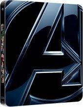 Avengers - Yenilmezler 3D Blu-Ray (Steel Book - Metal Kutu)