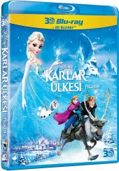 Frozen Karlar Ülkesi 3d+2d Blu Ray Combo 2 Disk