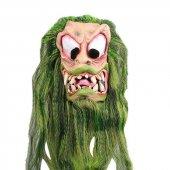 Lateks Yeşil Saçlı Dişli Maske