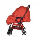 Prego 2095 Picallo Çift Yönlü Bebek Arabası Kırmızı-2
