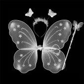 Kelebek Kanat Seti Beyaz Renk
