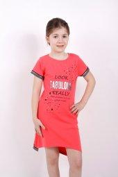 Kız Çocuk Elbise Fobulous Baskılı