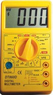Tt Technıc Dt 860d Dijital Multimetre Ölçü Aleti
