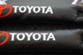 Toyota Logo Karbon Desen Koltuk Arası Fitili 2 Li Set 2019 Style-4