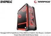 Rampage Castle 4*12cm Rgb Fan 2*usb3.0 + Kart...