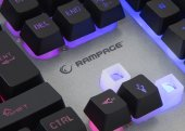 Rampage KM-RX8 Metal Rainbow Işıklı Macro Oyuncu Klavye Mouse-3