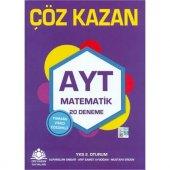 Çöz Kazan AYT Matematik 20li Deneme Sınavı