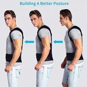 Posturex Manyetik Dik Duruş Korsesi Ayarlanabilir Bel Sırt Omuz Germe Yeleği Ortopedik Sırtlık Korse-3