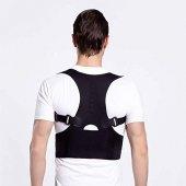 Posturex Manyetik Dik Duruş Korsesi Ayarlanabilir Bel Sırt Omuz Germe Yeleği Ortopedik Sırtlık Korse-4