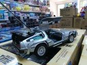 Geleceğe Dönüş Seri 1 Metal Model Araba Back To The Future 1:24 Ölçek