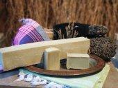 Sabuncu Mustafa Saf Hakiki Bıttım Sabunu 1 Kg Külçe (Biologic Seri) 100 Doğal, Vegan, El Yapımı