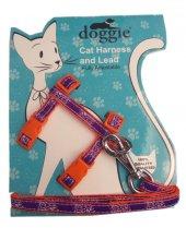 Doggie Gülücük Kedi Göğüs Tasması 22 36 Cm...