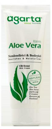 Agarta Doğal Aloe Vera Krem