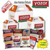 Yazar Ramazan Paketi 3 Gıda Kolisi 9 Parça Ürün   28,5 kg