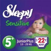 Sleepy Sensitive Jumbo Junior Plus 13 20kg No 5+ 22 Adet