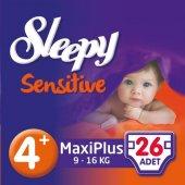 Sleepy Sensitive Jumbo Maxplus 9 16kg No 4+ 26 Adet