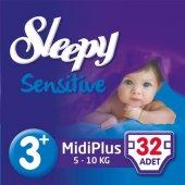 Sleepy Sensitive Jumbo Midiplus 5 10kg No 3+ 32 Adet