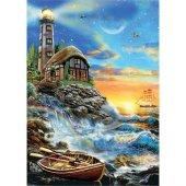 Ks Games 500 Parça Twilight Lighthouse Puzzle...