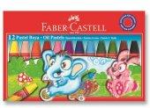 Faber Castell 12 Li Pastel Boya Toptan 12 Adet