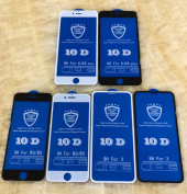 iPhone 7 PLUS 9D Süper Tutkal Full Kaplama Ekran cam-2