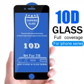 iPhone 7 PLUS 9D Süper Tutkal Full Kaplama Ekran cam-4