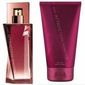 Avon Attraction Sensation Kadın Parfüm Edp 50 Ml.+ Losyon 2 Li Set
