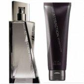 Avon Attraction Sensation Erkek Parfüm Edt 75 Ml.Ve Tıras Sonrası Losyon 2'Li Set Yeni