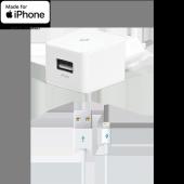 ttec Quantum™ MFi iPhone İçin Apple Lisanslı USB Seyahat Şarj Aleti