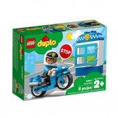 Led10900 Dup Polis Motosikleti 8 Pcs Duplo 1,5 3yaş Lego
