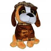 08350 Sun Abc Pff Peluş Köpek Oturan Şapkalı Sev B