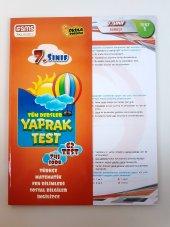 7.sınıf Yaprak Test Tüm Dersler Sms Yayınları