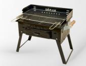 Kömürlü Mangal Piknik Barbekü Pervazlı Fırınlı KATLANIR AYAKLI 502-3