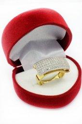 Cigold 14 Ayar Altın Taşlı Yüzük 19K1YZ05010002133-2