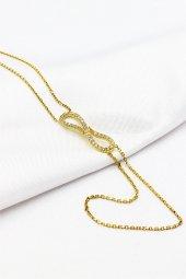 Cigold 14 Ayar Altın Taşlı Şahmeran Bileklik K1kp02190002091