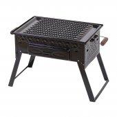 Kömürlü Mangal Piknik Barbekü  Fırınlı KATLANIR AYAKLI 501-3