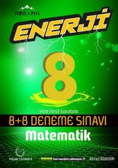 Palme Yayınları 8. Sınıf Matematik Enerji 8+8 Deneme Sınavı