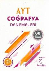 Karekök Yayınları Ayt Coğrafya 60lı Deneme