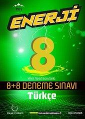 Palme Yayınları 8. Sınıf Türkçe Enerji 8+8 Deneme Sınavı