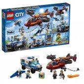 Lsc60209 Gökyüzü Polisi Elmas Soygunu City +6 Yaş Lego 400 Pcs