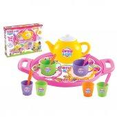 01593 Candy Tepsili Çay Set