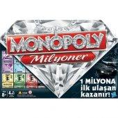 98838 MONOPOLY MİLYONER/ Hasbro Gaming +8 yaş