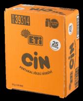 Eti Cin Tekli Portakallı 25 Gr (36 Adet)