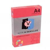 Alex Fotokopi Kağıdı Fosforlu A4 500lü Kırmızı