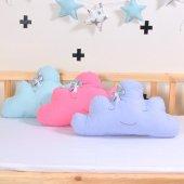 Bebek Çocuk Odası Bulut Yastık Süs Dekorasyon Emoji Dekor