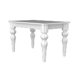 Modilayn Torna Ayak Masa Beyaz