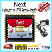 Next Ye 17 24 Sonlu Santral Multiswitch+adaptör