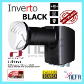 Inverto Black Ultra Twin (Sekiz Cıkıslı) Lnb 40mm 0.2 Db