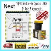 Next Ye 10 40 Sonlu Adaptörlü Santral