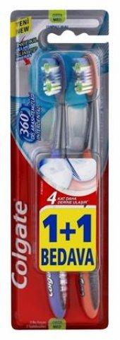 Colgate 360 � Deep Clean 1+1 Orta Diş Fırçası